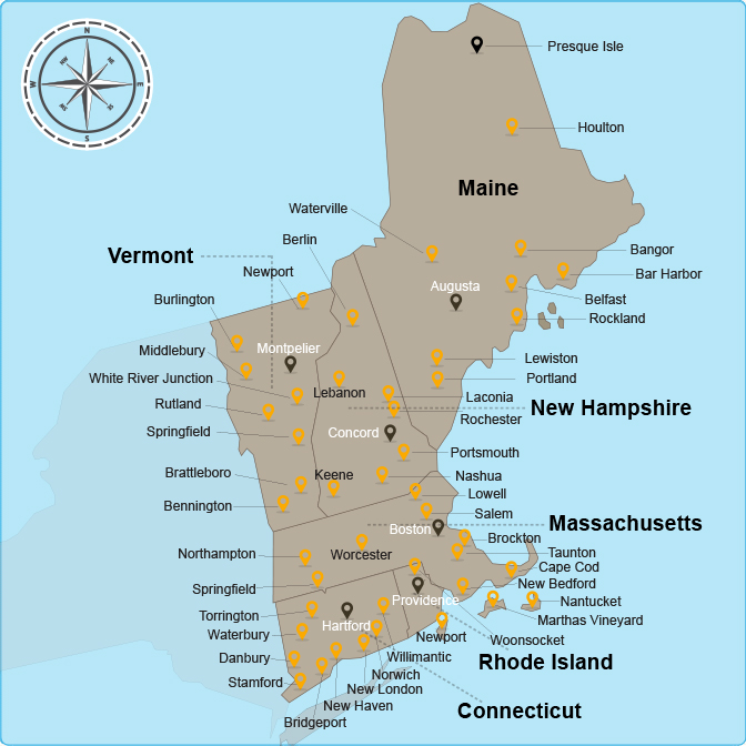 Apartments In Maine New Hampshire: New England Affordable Housing Management